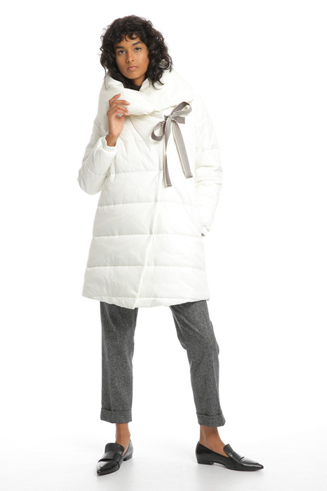 Wide neck puffer coat Intrend