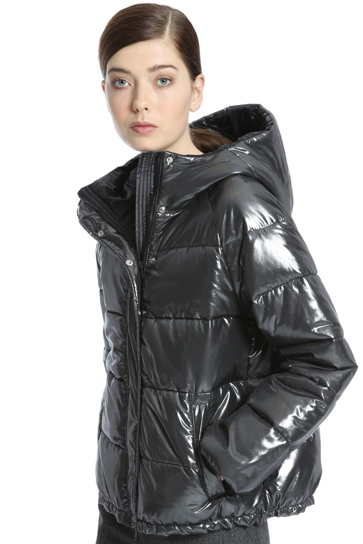 Coated bomber jacket Intrend
