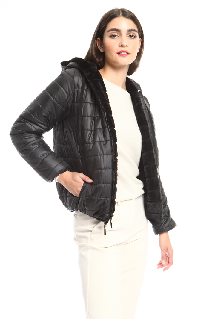 Reversible padded bomber Intrend