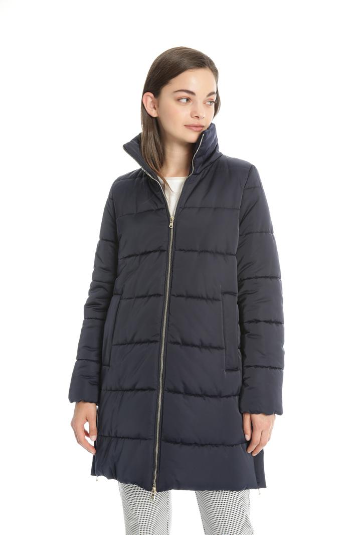 Technical satin puffer coat Intrend