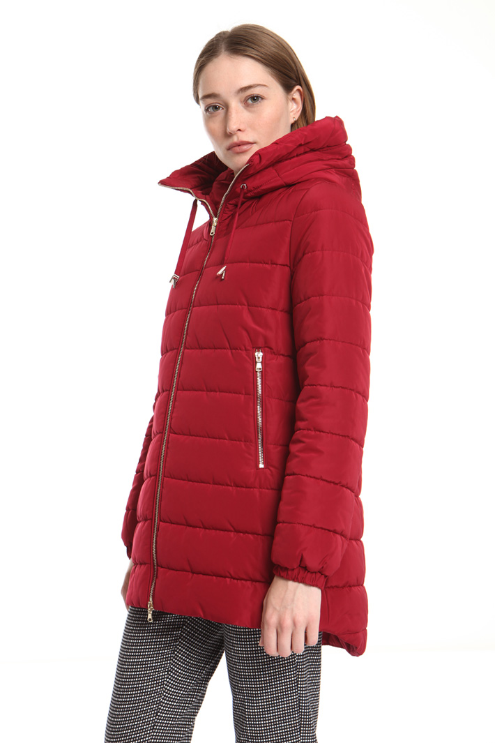 Hooded puffer jacket Intrend