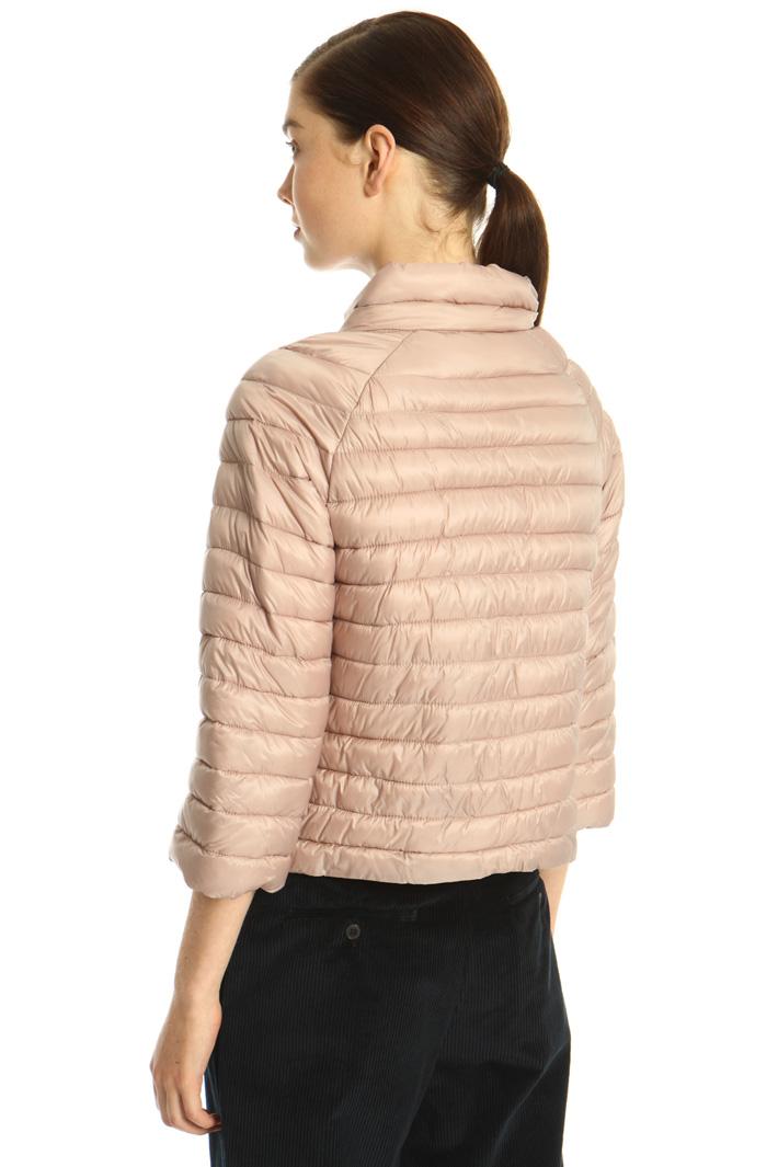 Technical satin puffer jacket Intrend