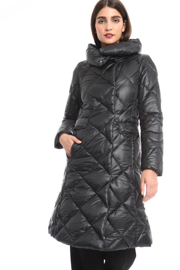 Long quilted coat Intrend