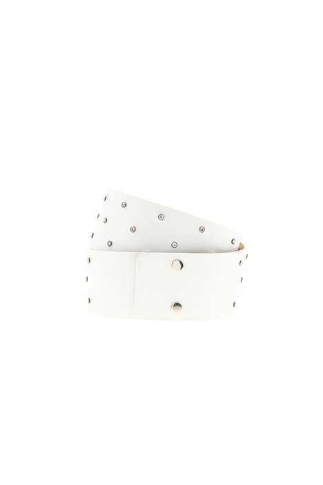 Leather belt with rhinestones Intrend