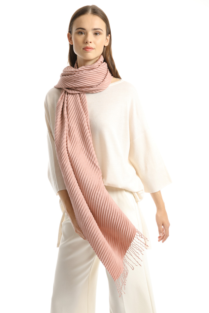 Pleated stole Intrend