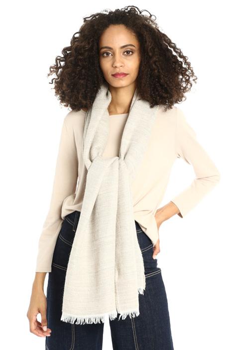 Wool lurex scarf Intrend