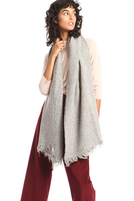 Wool blend bouclé scarf Intrend