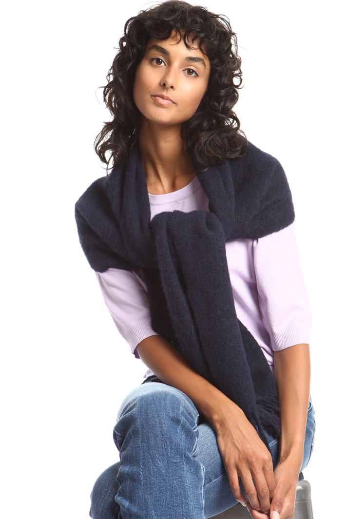 Mohair wool scarf Intrend