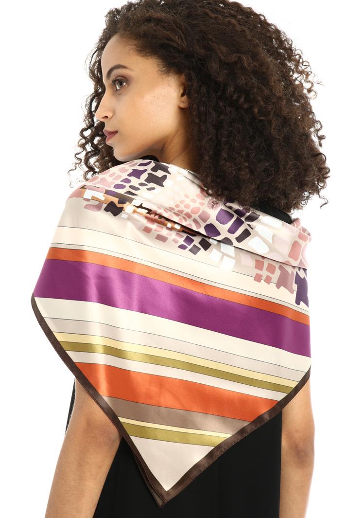 Fluid satin foulard Intrend