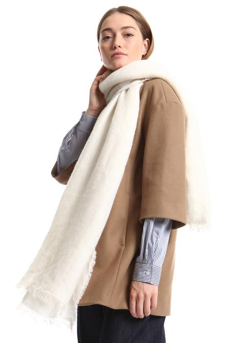 Sciarpa in filato misto lana Intrend