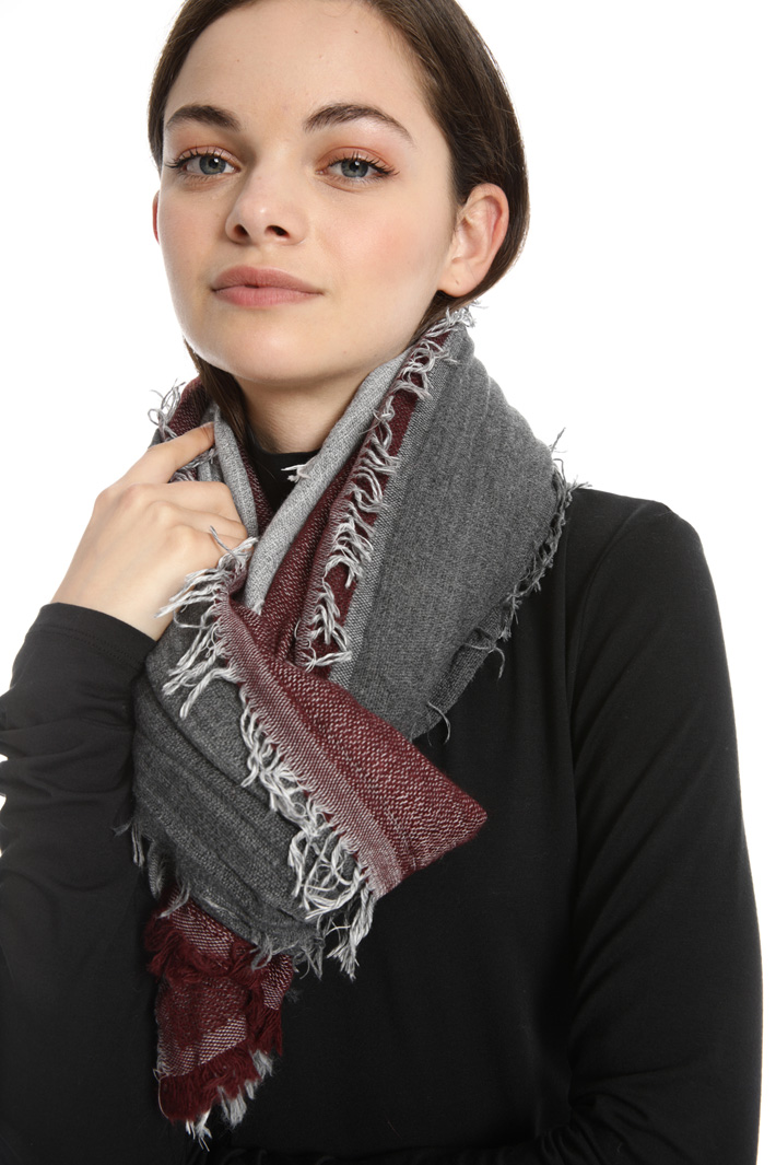 Double fabric scarf Intrend