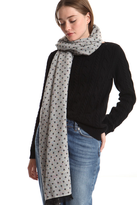 Polka-dot scarf Intrend