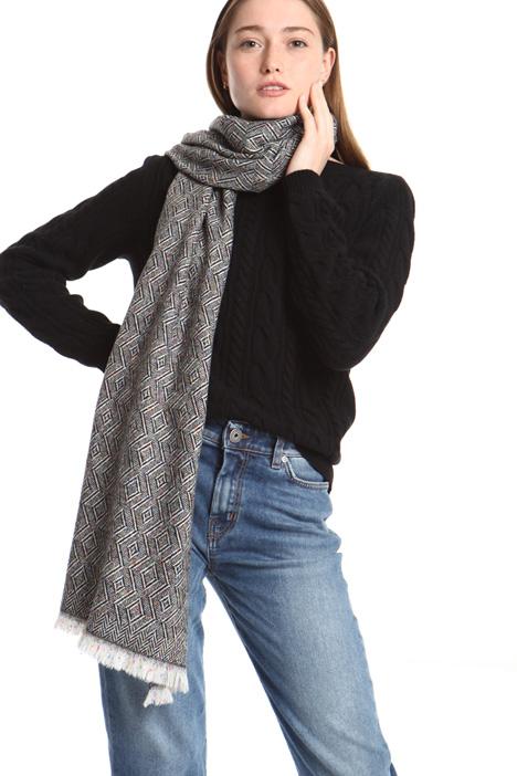 Jacquard scarf Intrend