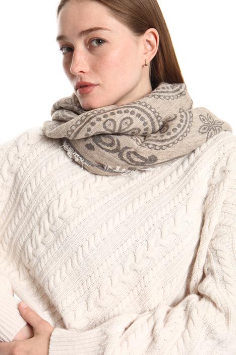 Soft lurex scarf Intrend