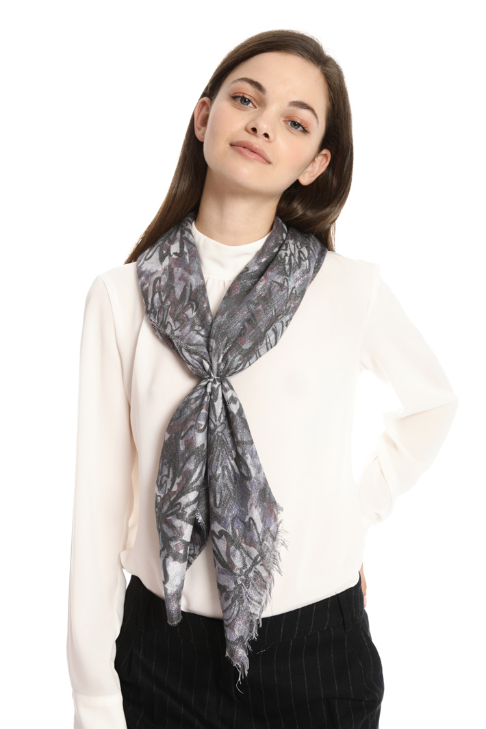 Fantasy print scarf Intrend