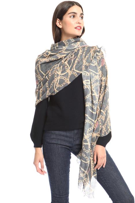 Printed viscose scarf Intrend