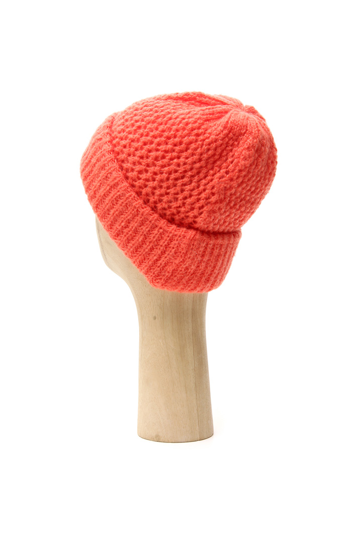 Mohair blend knit hat Intrend