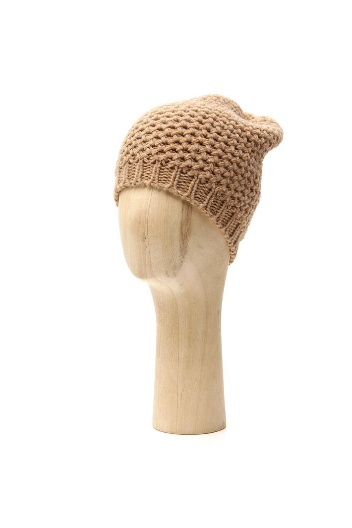 Lurex knit beanie hat Intrend