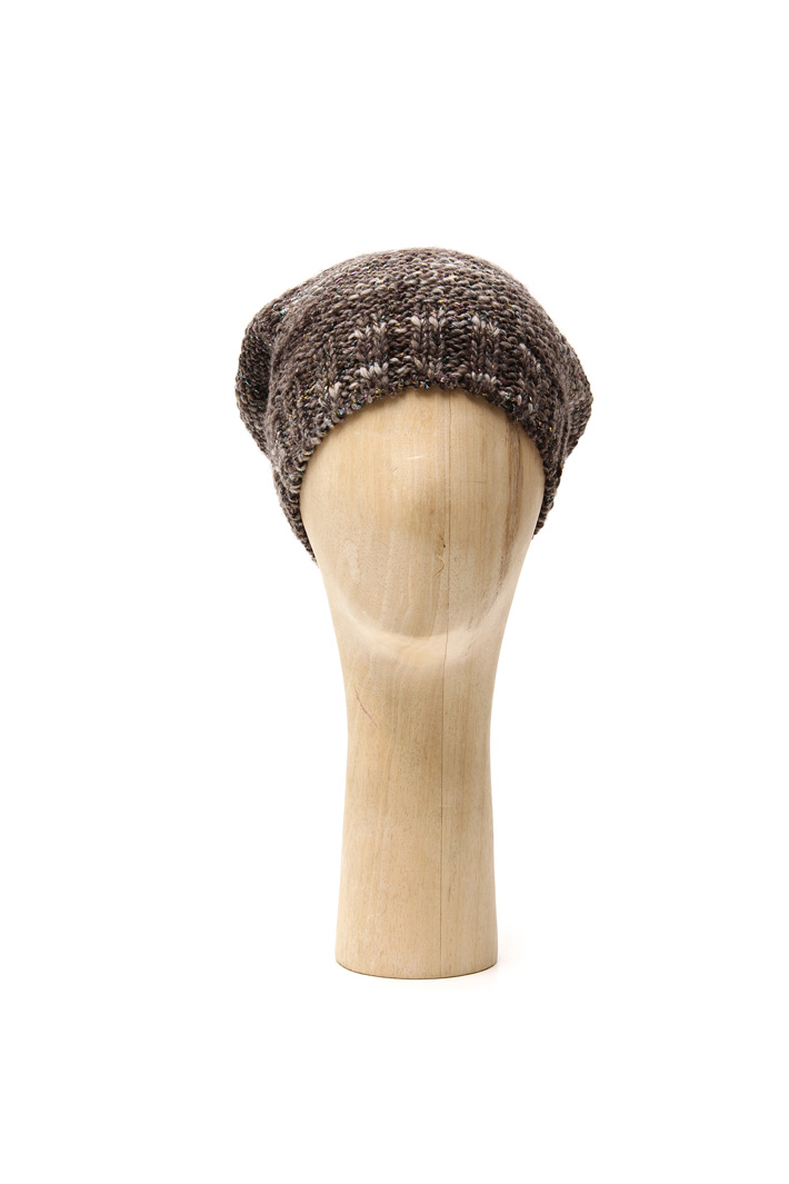 Lurex wool hat Intrend
