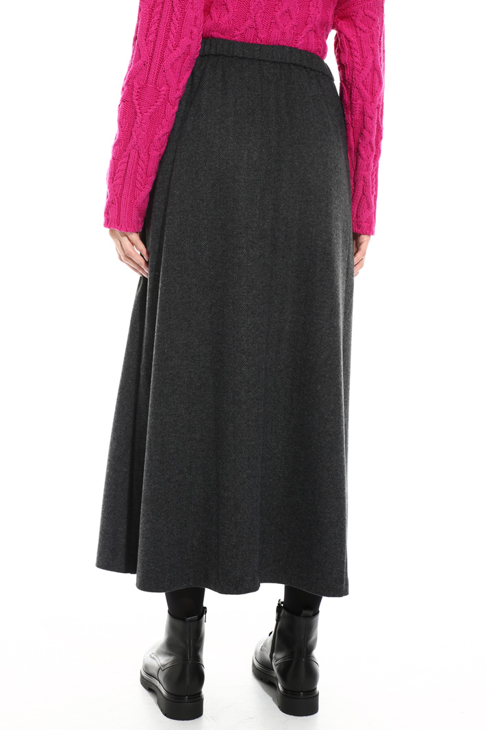 Soft flannel skirt Intrend