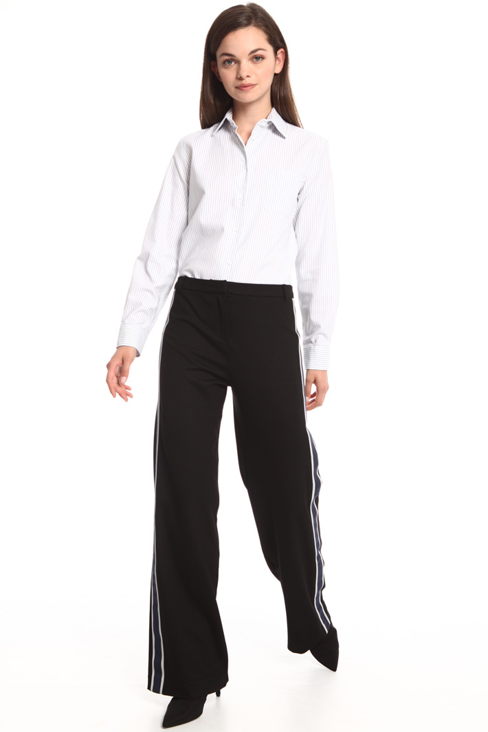 Interlock jersey trousers Intrend