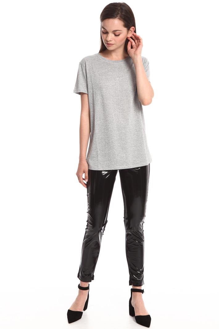 Vinyl-effect leggings Intrend