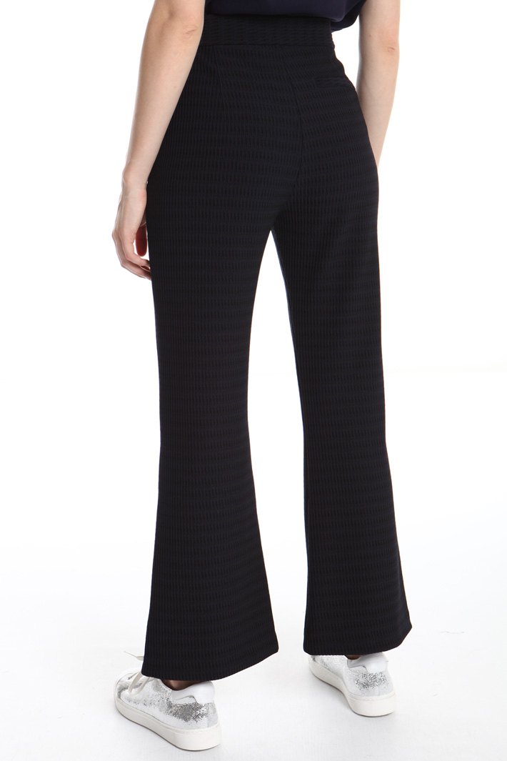 Flared jersey trousers Intrend