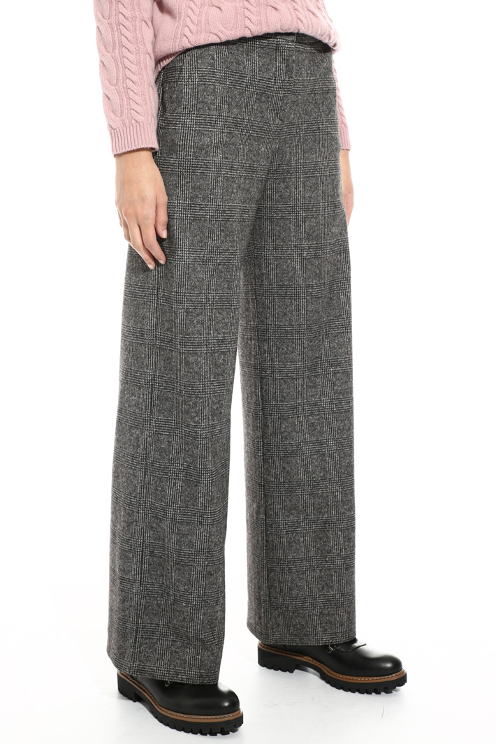 Crepe viscose trousers Intrend