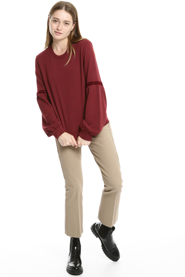 Puff sleeve sweatshirt Intrend