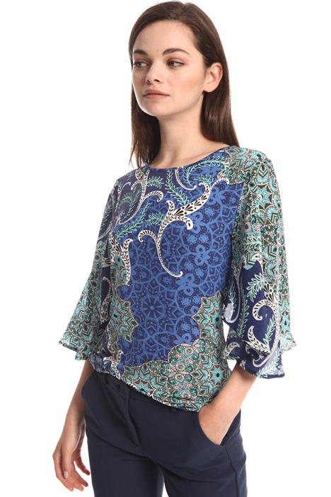 Georgette sleeve top Intrend
