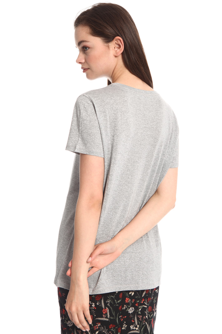Lurex jersey T-shirt Intrend