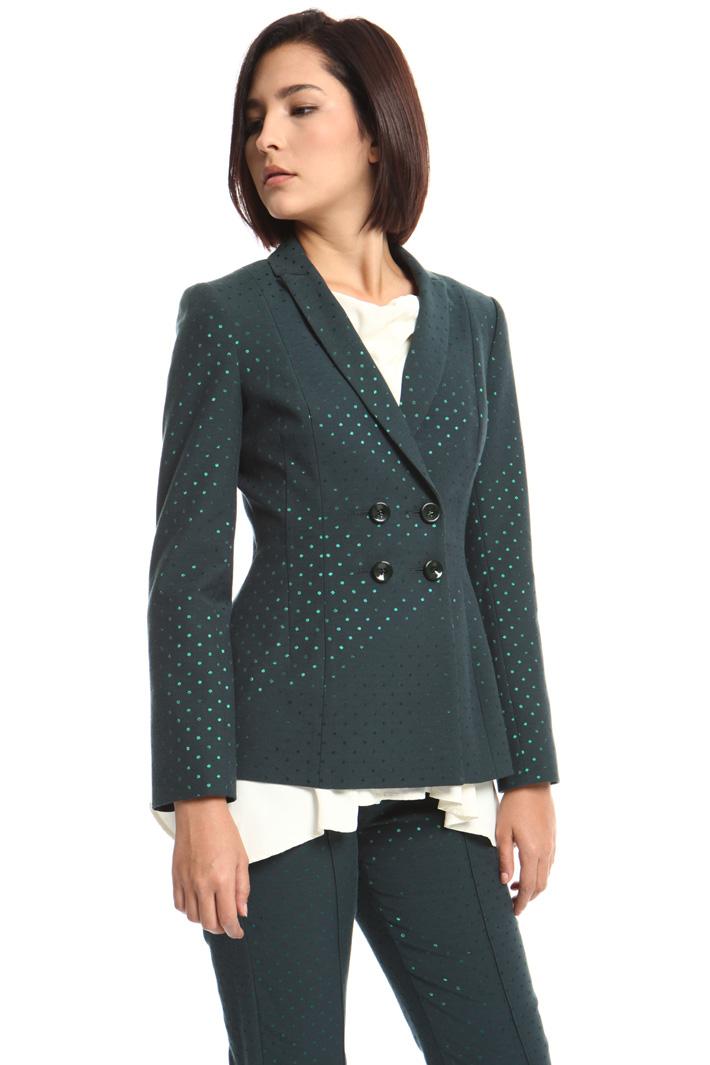 Jacquard cotton blazer Intrend