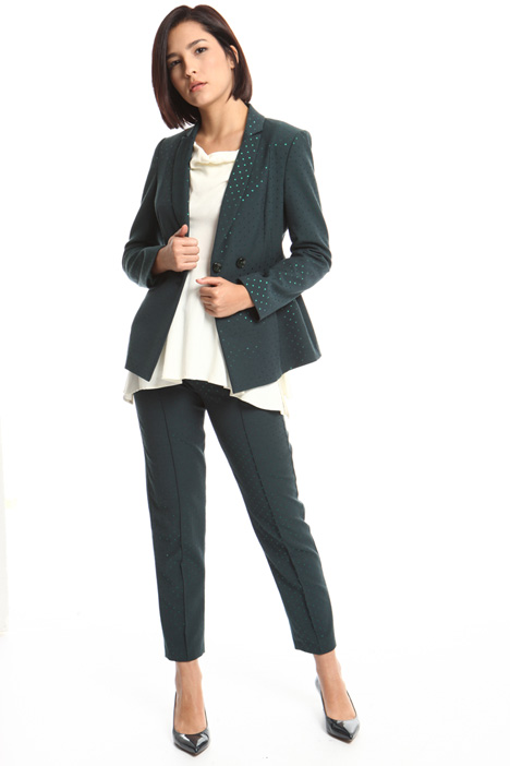 Jacquard cotton blazer Intrend