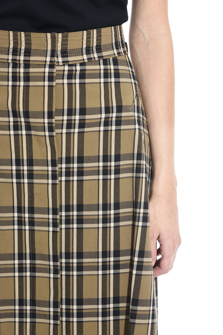 Pure cotton twill skirt Intrend