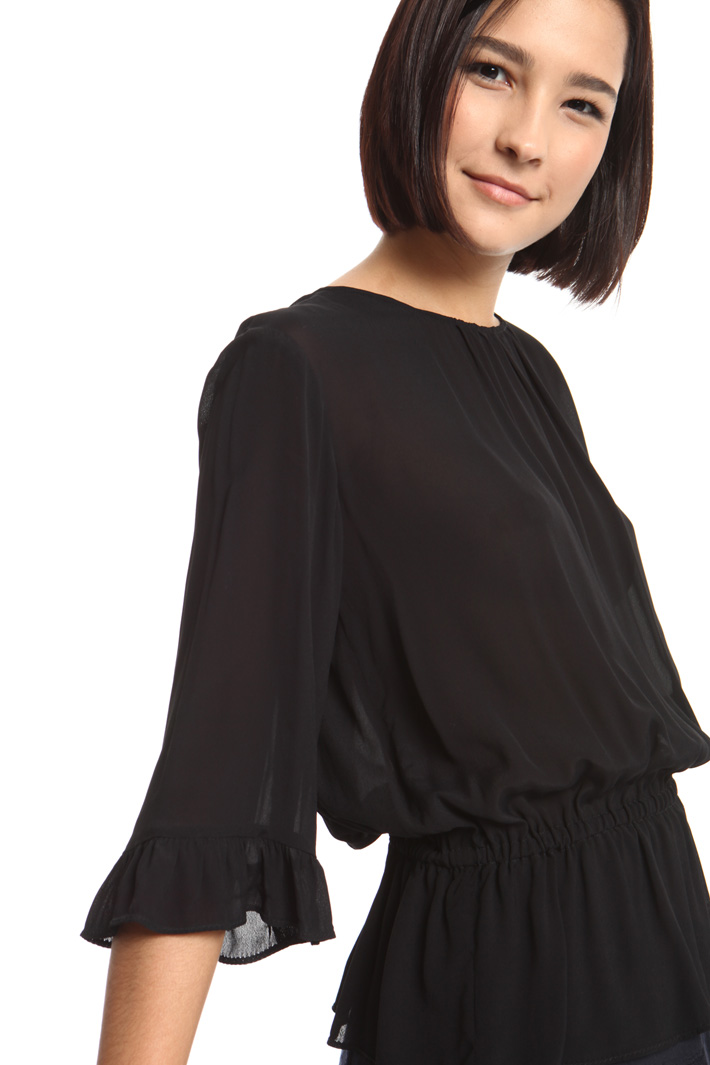 Viscose georgette blouse Intrend