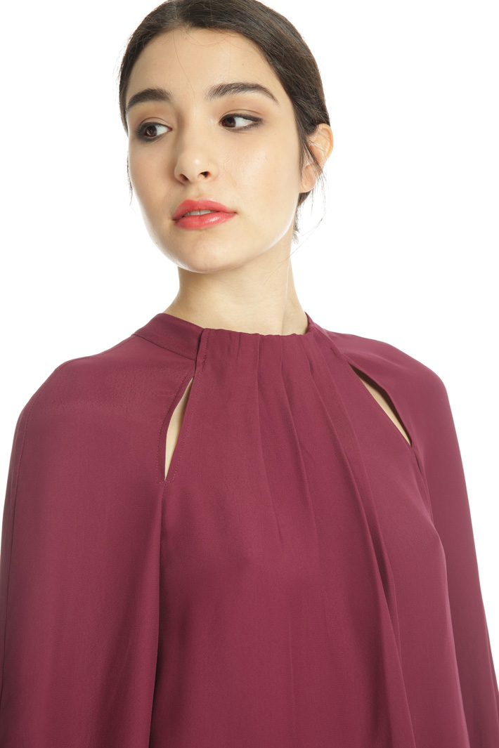 Blouse with cut-outs Intrend
