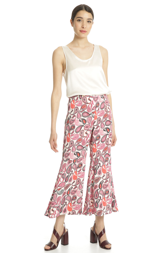 Fluid georgette trousers Intrend