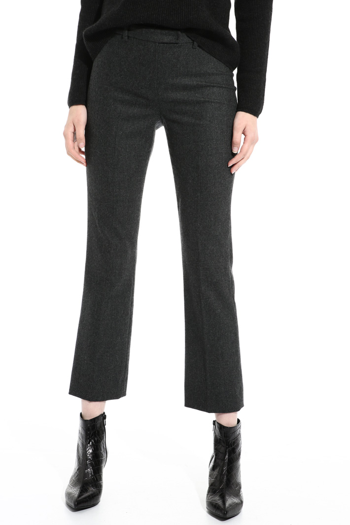 Wool trousers Intrend