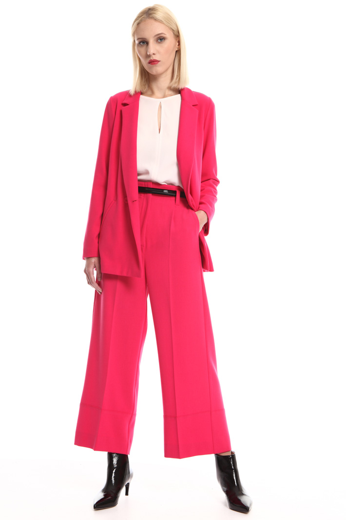 Compact crepe trousers Intrend