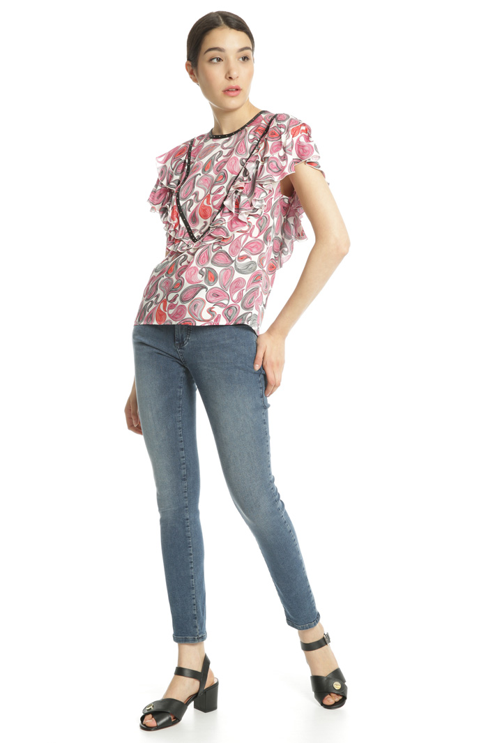 Light viscose blouse Intrend