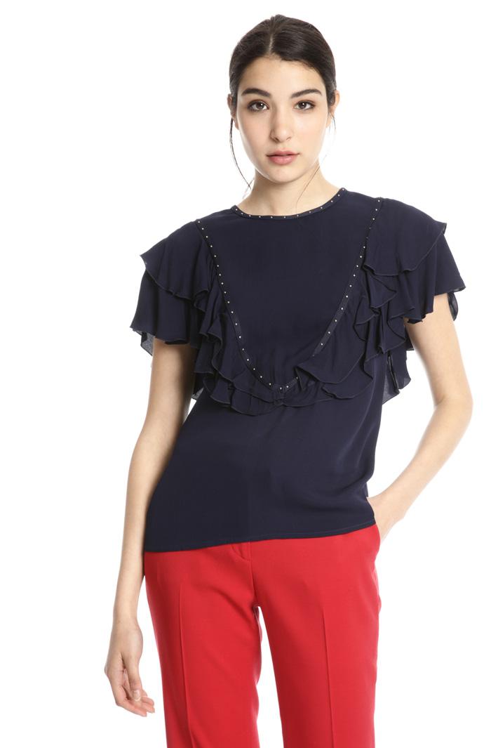 Light viscose blouse Intrend