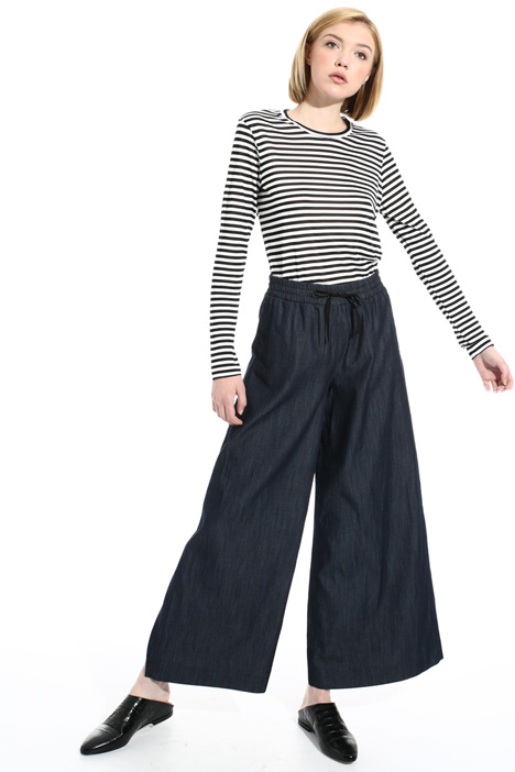 Wide leg denim trousers Intrend