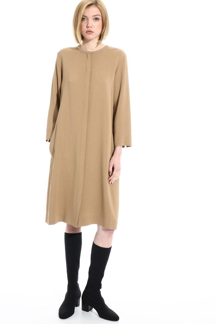 Long viscose tunic Intrend