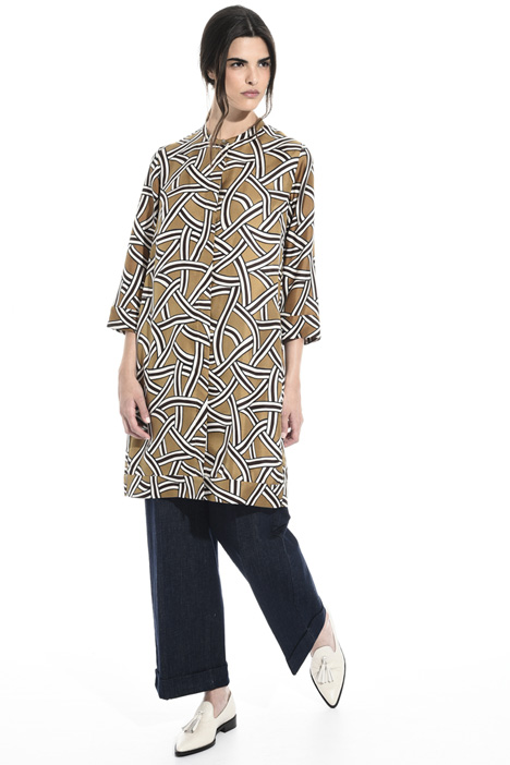Silk chemisier tunic Intrend