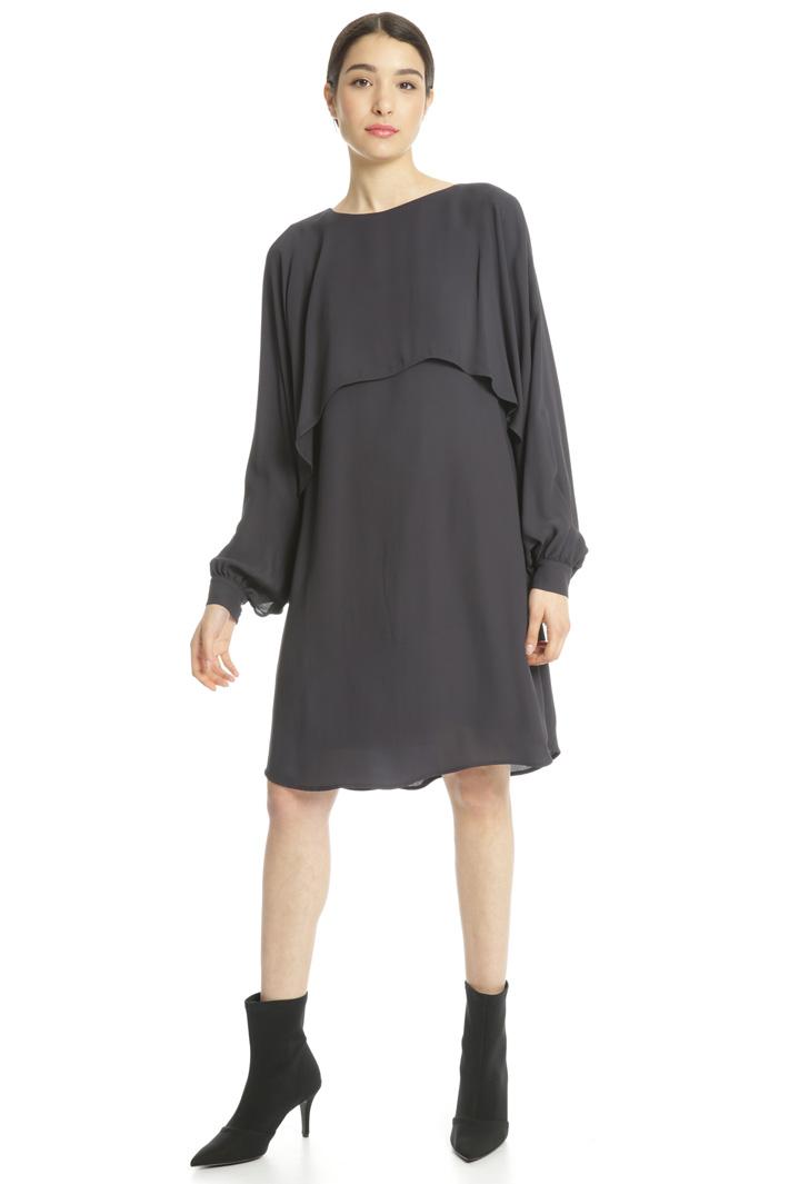 Double georgette dress Intrend