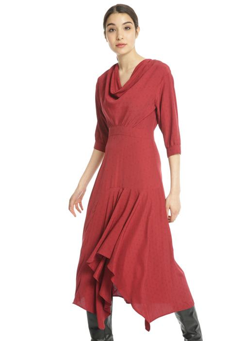 Fluid jacquard dress Intrend