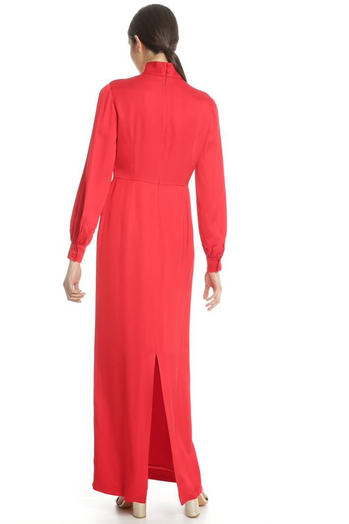 Long satin dress Intrend