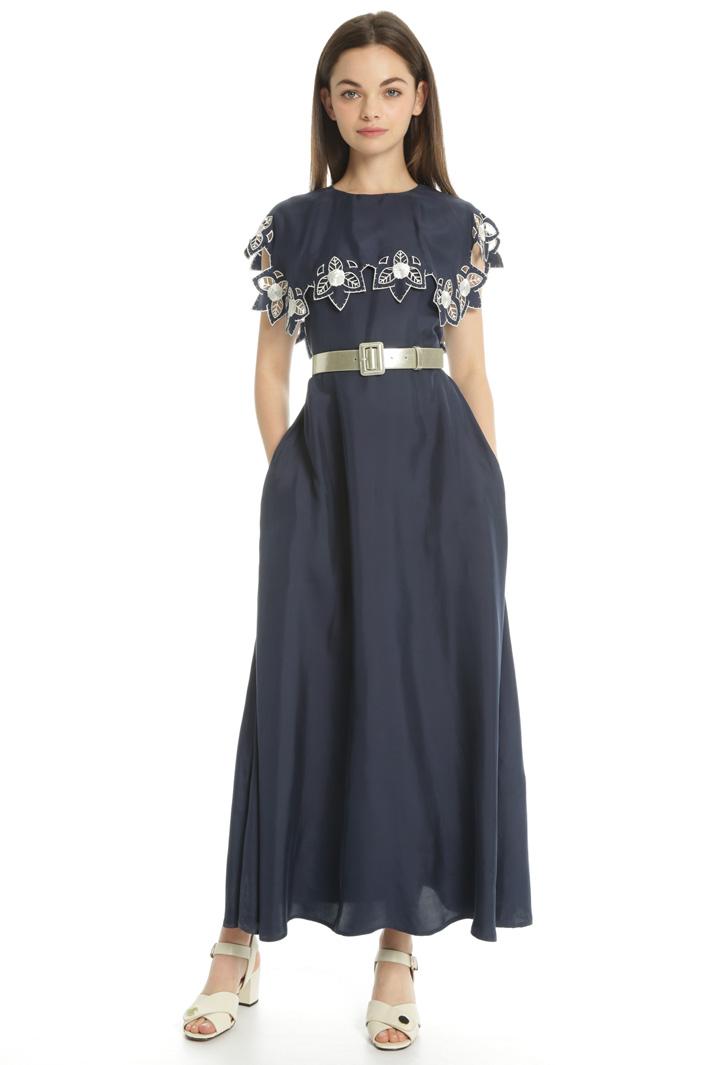 Opaque satin dress Intrend