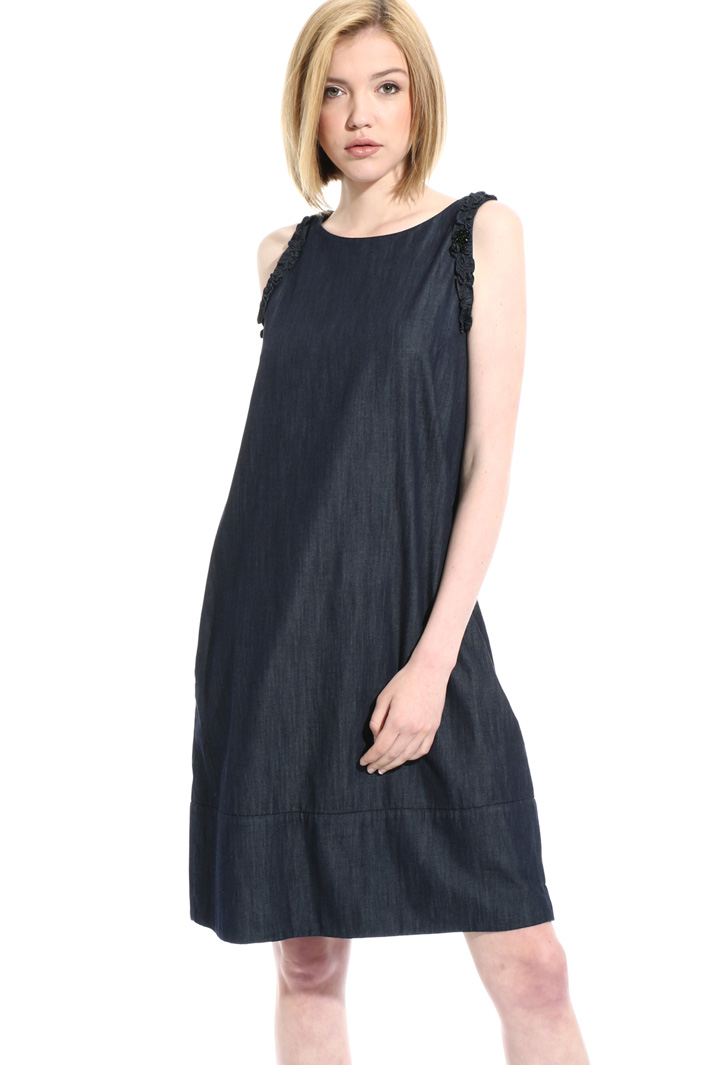 Short denim dress Intrend