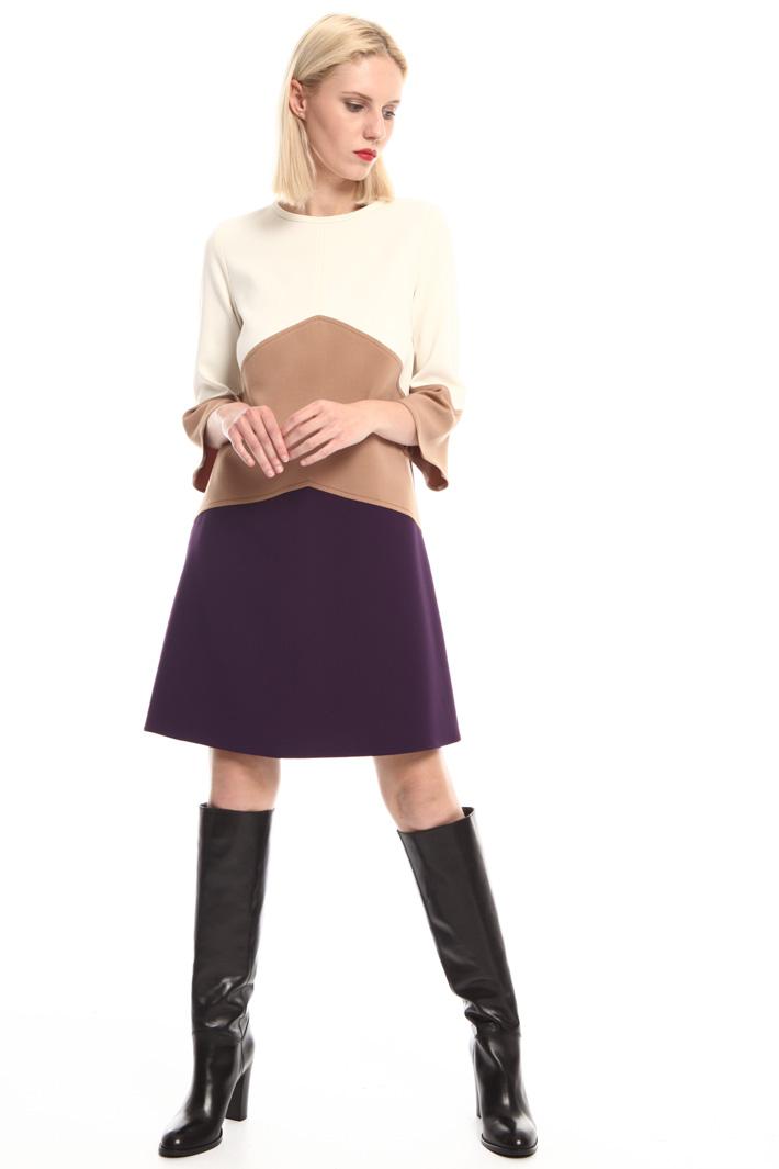 Stretch cady dress Intrend